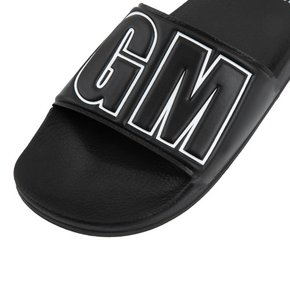 [여주점] 공식[MSGM] M_POOL SLIDE(BLACK)