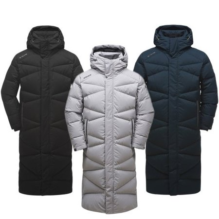 [EIDER 18F/W]남여공용 STELOL-X(스테롤-X) UNISEX LONG DOWN JKT(DMW18533)