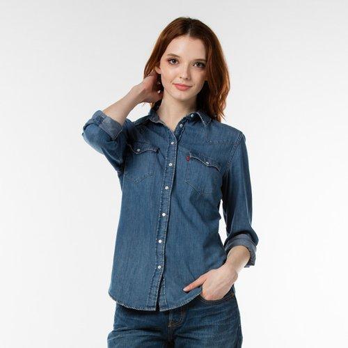 d58535ce9fe 리바이스]여성 기본 웨스턴 데님셔츠(17269-0053) , 신세계백화점