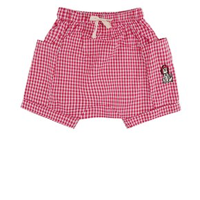 Puppy baby gingham check short pants / BP8211167
