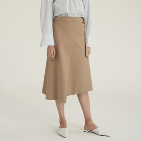 [30%할인적용가]wrap skirt (beige)