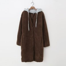 Teddy Bear Hooded Long Jumper