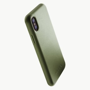 Leather Case for iPhoneX OLIVE