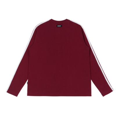 NY Long Sleeve T-shirt Burgundy