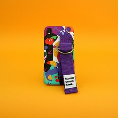 SUN CASE GRAPHIC FRUIT BLACK PURPLE(CARD)