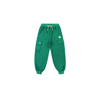 [20% SALE] Tennis smile cargo sweat pants