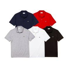 남성 레귤러핏 폴로 반팔티셔츠 5COLOR (LACOSTE SS PIMA JERSEY INTERLOCK REG POLO DH2050)