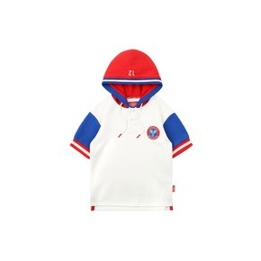 [30% SALE] Icebiscuit tennis emblem hoodie pique polo shirt