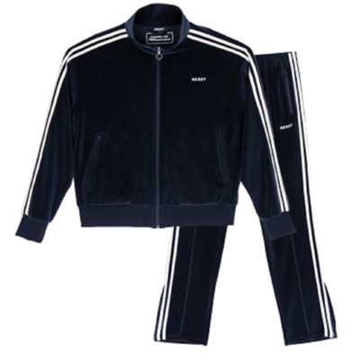Velour Track SET 21035 Navy