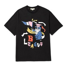 [COLETTE EDITION] MIX PATCH OVERFIT 1/2 T-SHIRTS VER1 BALCK