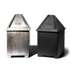 TABLE TOP DUSTBIN Black