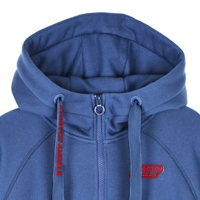 ♥SRTR01041♥S.A Semi-crop Hood zip-up_BLUE