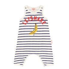 Lets make baby stripe jersey overall