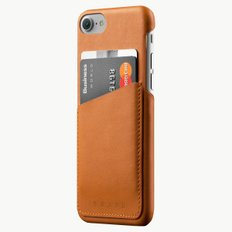 Leather Wallet Case for iPhone 8/7 TAN